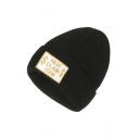 Stylish Letter HIGH CLAIM ITEM Embroidered Unisex Knit Beanie