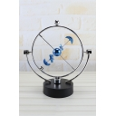 New Arrival Fashion Home Decor Kinetic Orbital Blue Perpetual Balance Globe Pendulum