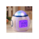 Digital Galaxy Star Projection Night Lamp Alarm Clock