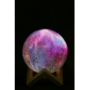 Hot Sale 3D LED Galaxy Printed Night Lamp 15CM