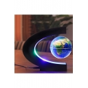 Globe Map Leviation Floating LED Rotating Light Home Office Ornament