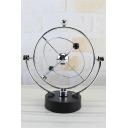 Silver Perpetual Balance Celestial Globe Pendulum Home Decor 25*22*10.5CM