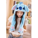 Tik Tok Funny Cartoon Stitch Moving Ear Hat Cap