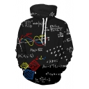 New Fashion Letter Print Drawstring Hood Casual Spring Hoodie
