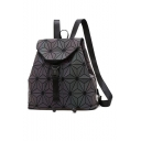 Hot Fashion Laser Design Geometric Pattern Backpack