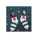 Colorbnlock Cartoon Printed Cotton Socks