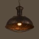 15'' Wide Neo-Industrial 1 Light Full Sized LED Pendant