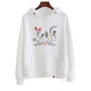New Arrival Long Sleeve Letter Printed Leisure Thick Hoodie