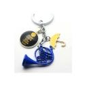 Cute Umbrella Surnai Letter KEEP CALM Printed Key Chain Toy