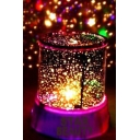 STAR BEAUTY Letter Printed Galaxy Projector Night Lamp 11*12.5cm