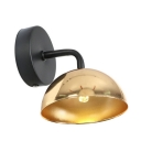 Armed Mini Wall Light Sconce Retro Style Metal Single Light Wall Lamp for Bedroom