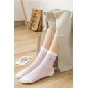 Cotton Cute Cartoon Unicorn Pattern Chic Socks