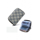 New Stylish Letter GD Printed Card Holder of Large Capacity