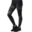 Hot Popular Camouflage Elastic Waist Skinny Yoga Pants