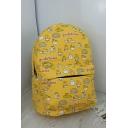 Students Fashion Popular Cartoon Gudetama Printed Large Capacity 29*40*15cm School Backpack