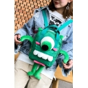 Stylish Cute Cartoon Animal Design Students Canvas School Backpack 20*9*27cm