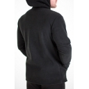 Men's Winter Warm Thick Long Sleeve Chunky Letter BUTZ Printed Hoodie