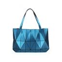 Geometric Laser Convertible New Fashion Handle Bag