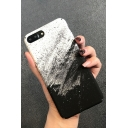 Simple Basic Sand Painting Print Frosted Mobile Phone Case