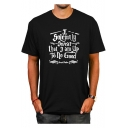 Popular Letter I SOLEMNLY SWEAR THAT I AM UP TO NO GOOD Print Casual Loose Cotton T-Shirt