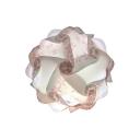 Pink Jigsaw Puzzle Suspended Light Stylish Modern Plastic 1 Bulb DIY Ceiling Pendant Light