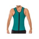Men's Slimming Body Waist Suit Vest Hot Neoprene Sauna Body Shapers Tank