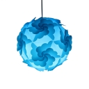 Colorful Contemporary Jigsaw Hanging Light Plastic 1 Light Drop Ceiling Lighting for Kids