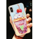 Girls Lovely Ice Cream Cartoon Animal Print Mobile Phone Case for iPhone