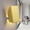 Aluminum Half Globe Wall Light Modern Fashion Wall Lamp in Yellow for Staircase Bedroom
