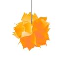 Plastic Jigsaw Puzzle Pendants light Colorful Stylish 1 Bulb Decorative Lighting Fixture