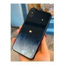 New Stylish Galaxy Pattern Glass Case Mobile Phone Case
