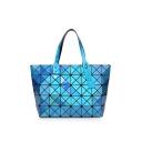 Stylish Geometric Unique Laser Shoulder Bag Tote Bag