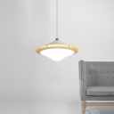 Second Gear Gyro Pendant Light Modern Style Acrylic LED Drop Light 8