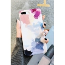 Basic Simple Fashion Watercolor Painting Print iPhone Case