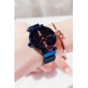 Tik Tok Fashion Galaxy Printed Adjustable Strap Magnetic Watch