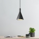 Designers Style Conical Pendant Light Concreted Hanging Light for Kitchen Bar Coffee Shop