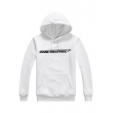 Popular Letter STARK INDUSTRIES Printed Long Sleeve Loose Casual Hoodie