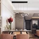 Acrylic Fish Shape Hanging Light Simplicity Multi Light Suspended Lamp for Children Room