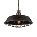 18'' Wide Large Single Barn Style Pendant
