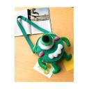 Lovely Cute Cartoon Monster Design School Canvas Crossbody Bag 18*10*20cm