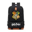 Popular Harry Potter University Badge Printed Outdoor Traveling Unisex Backpack 28*15*43cm