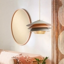 Multi Tier Drum Drop Light Designers Style Macaron Ceiling Lamp in Multi Color for Coffee Shop