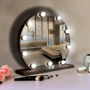 Third Gear Ball Vanity Mirror Light USB Powered Light 10 Bulbs Makeup Lighting Fixture