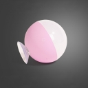 Wireless Portable Ball Makeup Light Modern Touch Control LED Cosmetic Lamp with Suction Cup