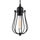 Vintage Cage Entryway LED Pendant Light LOFT Industrial Ceiling Pendant Fixtures
