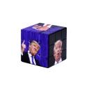 Tik Tok New Stylish Portrait Trump Printed Customized Purple Rubik Cube
