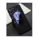 Creative Cameo Frosted Silicone Black Mobile Phone Case for iPhone