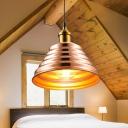 Rose Gold Babel Hanging Light Modern Design Metal Single Head Suspended Lamp for Kitchen