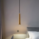 Stony Conical Tube Drop Light Contemporary Art Deco Pendant Light for Dining Table