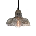 Modernism Stylish Candy Dish Pendant Light Mercury Glass 1 Light Ceiling Pendant Lamp